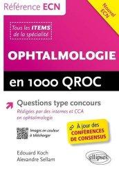 Dernières parutions dans Référence ECN, Ophtalmologie en 1000 QROC