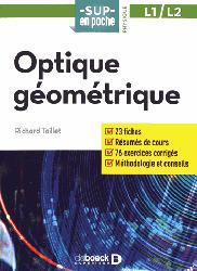 Dernières parutions sur Optique, Optique géométrique