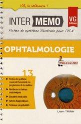 Souvent acheté avec Urgences Réanimation, le Ophtalmologie