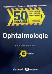 Souvent acheté avec Handicap Vieillissement Douleur, le Ophtalmologie