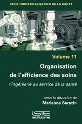 Dernières parutions sur Qualité et organisation des soins, Organisation de l'efficience des soins