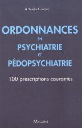 Ordonnances en psychiatrie et pédopsychiatrie