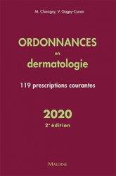 Dernières parutions sur Dermatologie, Ordonnances en dermatologie 2020