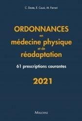 Nouvelle édition Ordonnances de médecine physique et réadaptation