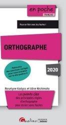 Dernières parutions sur Expression écrite, Orthographe. Edition 2020