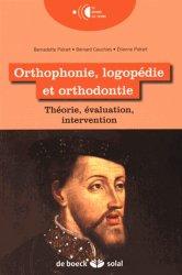 Souvent acheté avec Les minivis, le Orthophonie, logopédie et orthodontie. Théorie, évaluation, intervention
