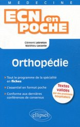 Souvent acheté avec Diabétologie - Endocrinologie, le Orthopédie