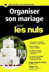 Nouvelle édition Organiser son mariage pour les nuls