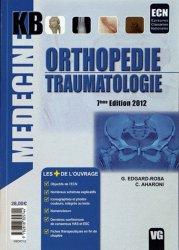 Souvent acheté avec Endocrinologie Diabétologie Nutrition, le Orthopédie - Traumatologie