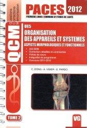Souvent acheté avec UE3 Biophysique, le Organisation des appareils et systèmes UE5 Tome 2  - 2012