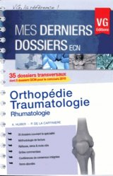 Souvent acheté avec Orthopédie traumatologie, le Orthopédie - Traumatologie