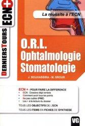 Souvent acheté avec Cancérologie générale, le ORL Ophtalmologie Stomatologie