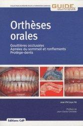 Dernières parutions dans Guide Clinique, Orthèses orales
