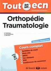 Dernières parutions dans Tout en un ECN, Orthopédie - Traumatologie