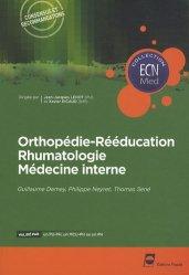 Souvent acheté avec Gynécologie et obstétrique, le Orthopédie-Rééducation - Rhumatologie - Médecine interne