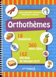 Dernières parutions sur Matériel, Orthothèmes