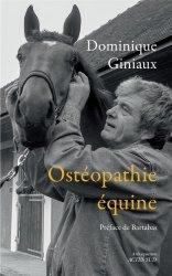Dernières parutions dans Nature, Ostéopathie équine