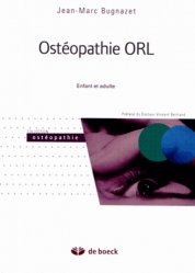 Dernières parutions sur Manipulations crâniennes, Ostéopathie ORL