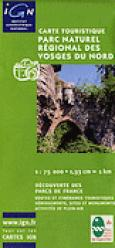 Dernières parutions dans Carte touristique, Parc naturel régional des Vosges du nord