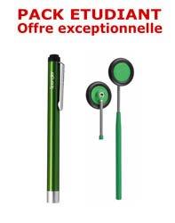Dernières parutions dans Pack, Petit pack étudiant médecine - Marteau à réflexes Babinski + Lampe stylo à LED Litestick  - VERT
