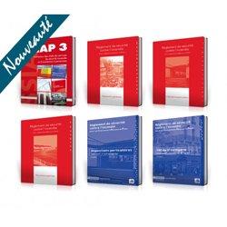 Nouvelle édition PACK SSIAP 3 PREMIUM : 6 ouvrages * Réglementation non commentée + commentée