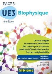 Souvent acheté avec Chimie organique - UE1 PACES, le PACES UE3 Biophysique