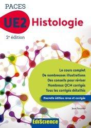Souvent acheté avec UE1 - La chimie en PACES - Rappels de cours et QCM type concours, le PACES UE2 Histologie