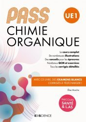 Dernières parutions sur PACES - PASS - LAS - MMOP, PASS UE 1 Chimie organique