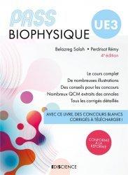 Souvent acheté avec PASS UE3 Physique - Manuel : cours + entraînements, le PASS UE3 Biophysique. Manuel : cours + entraînements corrigés