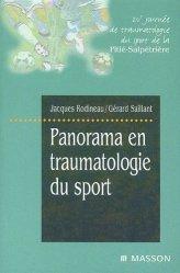 Souvent acheté avec Concours kiné biologie, le Panorama en traumatologie du sport