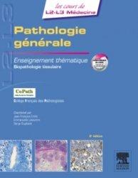 Souvent acheté avec Physiologie humaine, le Pathologie générale