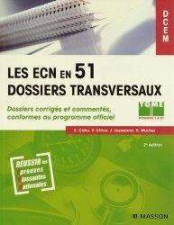 Souvent acheté avec Dossiers indifférenciés, le Pack Les ECN en 51 dossiers transversaux