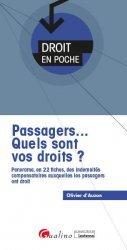 Dernières parutions sur Droit des transports, Passagers... ce que vous devez savoir sur vos droits