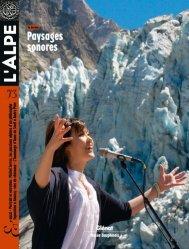 Dernières parutions dans L'Alpe, Paysages sonores