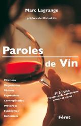 Souvent acheté avec Guide automobile France, le Paroles de vin