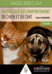 Dernières parutions dans Vade-mecum, Pathologie du comportement du chien et du chat