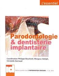 Dernières parutions dans L'essentiel, Parodontologie et dentisterie implantaire