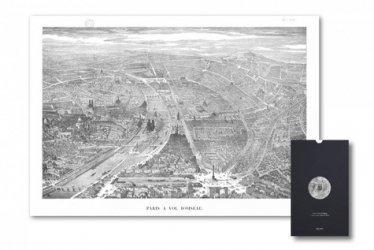 Dernières parutions sur Cartes thématiques, Paris à vol d'oiseau
