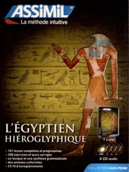 Dernières parutions sur Egyptien hiéroglyphique, Pack CD - L'Égyptien Hiéroglyphique - Débutants et Faux-débutants