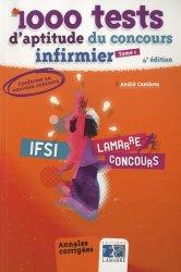 Souvent acheté avec IFSI Le Volum', le Pack 1000 tests d'aptitude du concours infirmier Tome 1 et Tome 2