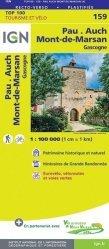Dernières parutions sur Aquitaine, Pau, Auch, Mont-de-Marsan. 1/100 000