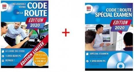 Dernières parutions sur Code de la route, Pack Code de la route + Spécial examen. Pack en 2 volumes : Réussissez votre code de la route ; Code de la route Spécial examen, Edition 2020, avec 1 DVD