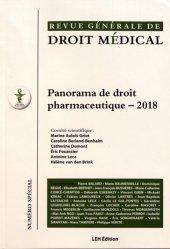 Dernières parutions sur Gestion - Règlementation, Panorama de droit pharmaceutique - 2018
