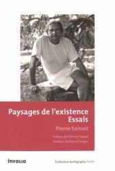 Dernières parutions dans Archigraphy poche, Paysages de l'existence. Essais