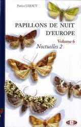Dernières parutions sur Lépidoptères, Papillons de nuit d'Europe