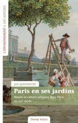 Dernières parutions sur Jardins, Paris en ses jardins