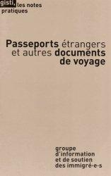 Dernières parutions dans Les notes pratiques, Passeports étrangers et autres documents de voyage