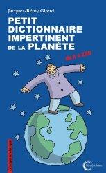 Dernières parutions sur Écologie - Environnement, Petit dictionnaire impertinent pour la planète
