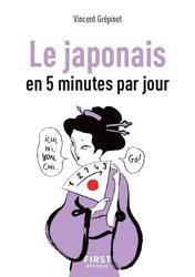 Dernières parutions sur Auto apprentissage (parascolaire), Le japonais en 5 minutes par jour