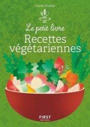 Dernières parutions sur Cuisine végétarienne, Petit livre de recettes végétariennes